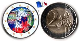 France - 2 Euro 2019 (30 ème Anniversaire De La Chute Du Mur De Berlin - Color) - France
