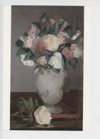 Edouard Manet 1832-1883 : Pivoines (New York) Cp Vierge - Peintures & Tableaux