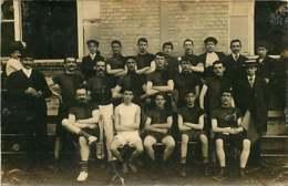 180320C - CARTE PHOTO L BIZON BOBIGNY 93 - SPORT équipe Foot Rugby ? - Bobigny