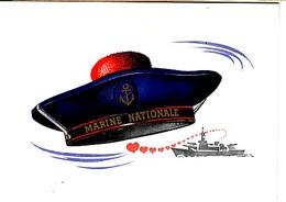 Souvenir De La Marine Nationale: Beret De Marin - Uniforms