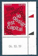 Lille Métropole 2020 Coin Daté (2020) Neuf** - France