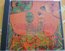 CD  - THE BOTTOM'S INSPECTORS / TWIN IS ONE - Rock