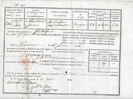 Livraison De Foin Au 6eme Régiment De Cuirassiers De Versailles è Pontoise - Versailles