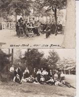 57 DIEDENHOFEN  THIONVILLE   2 Cartes Photos - Thionville