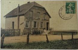 CPA WIMEREUX--CAFE DES GOLFERS--RESTAURANT BRICHE. - Francia