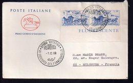 REF X20 : Enveloppe 1er Jour First Day Cover FDC : Italie Viterbo Primo Giorno Emissione Gionata Del Francobollo - F.D.C.