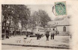 S4406 Cpa 19 Brive -  Place Brune Et Hospice Dubois - Brive La Gaillarde