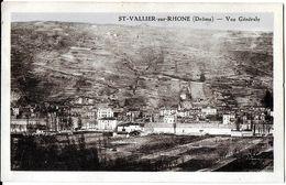 SAINT-VALLIER-SUR-RHÔNE 26 DRÔME VUE GÉNÉRALE EDIT. DESMEURE - Autres Communes