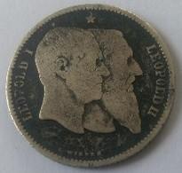 1 FRANC - 1830 - 1880 - LEOPOLD I / LEOPOLD II - 1865-1909: Leopold II