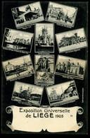 Liège Exposition  Universelle De 1905 Otto Multives Vues Multiples Pionnière - Liège