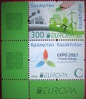 Kazakhstan  2016  Europa -CEPT   Think Green. Expo 2017    2 V   Corner  Ecke  MNH - Europa-CEPT
