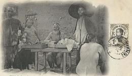 CHINE : Yunnang : Mongtzé, Marchands - China