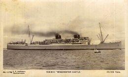 "R.M.M.V. ""Winchester Castle""  Carguero. Cargo Ship. Naviere Cargo - Handel"