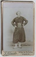 CDV 1870 Soldat Zouave Frédéric Hoffmann Nancy Bray Sur Seine Photographe J. Klenskcki 14 Rue De Richelieu Paris - War, Military
