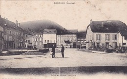 88-SENONES- PONT ET PLACE VAUTRIN- ANIMEE - France