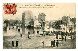 92 - Hauts De Seine - Boulogne Sur Seine - La Crue De La Seine - 30 Janvier 1910  (0731) - France