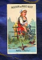 Chromo Calendrier Calendar Pont Neuf Paris Fermiere Farmer Canard Danmanville - Petit Format : ...-1900