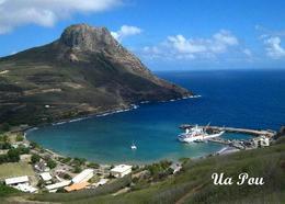 Marquesas Islands Ua Pou Aerial View New Postcard Französisch Polynesien AK - French Polynesia