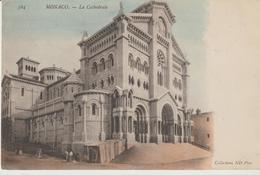 20-Principato Di Monaco-Cattedrale-francobollo 5 C.-v.1904 X Estero: Montevecchio-Sardegna-Italia-Storia Postale - Kathedrale Notre-Dame-Immaculée