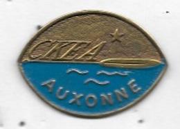 Pin's  Ville, Sport  C K E A  AUXONNE, Canoë-Kayak De L'Étoile Auxonnaise  (à  AUXONNE  ( 21 ) - Canoa