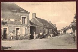 Sillé-le-Philippe Entrée Du Pays Hôtel RIANT Animé  * Sarthe 72460 * Sillé Le Philippe Arrondissement Mamers - Autres Communes
