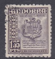 Andorre Espagnol N° 50 O Partie De Série : 1p. 35 Violet, Oblitéré, TB - Andorre Espagnol