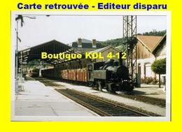 BVA 643-11 - Train - Loco Blanc-Misseron 020+020 T N° 101 En Gare - TULLE - Corrèze - POC - Tulle