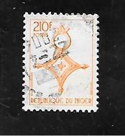 TIMBRE OBLITERE DU NIGER DE 1994 N° MICHEL F 1163 - Niger (1960-...)