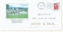 PAP REPIQUAGE BEAUJARD  SENERGUES ( Aveyron) - PAP: Aufdrucke/Beaujard