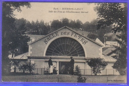 Carte Postale 71. Bourbon-Lancy  La Salle Des Fêtes   Très Beau Plan - Autres Communes
