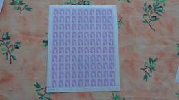 Feuille Compléte Du Timbre Sabine De Gandon No 2120 - Feuilles Complètes