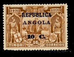 ! ! Angola - 1913 Vasco Gama On Timor 10 C - Af. 140 - MH - Angola