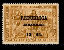 ! ! Inhambane - 1913 Vasco Gama On Africa 15 C - Af. 54 - MH - Inhambane