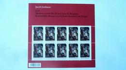 F 4278** – Neuf – 2012 -   Exposition De Jacobs Jordaens Aux Musées Des Beaux-Arts De Belgique  – Feuillet Avec 10 Timbr - Feuilles Complètes