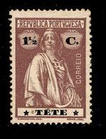 ! ! Tete - 1914 Ceres 1 1/2 C - Af. 28 - MH - Tete