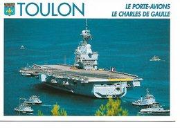 """L20K008 - Le Porte Avion """"Le Charles De Gaulle"""" - Bandol Carterie - T N°1024 - Schiffe"""