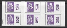 RGR-2 SUR CARNET MARIANNE L'ENGAGEE INTERNATIONAL.YSEULT YZ - Postzegelboekjes