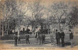 CORSE : ILE ROUSSE - Place De Paoli - Très Bon état - Otros Municipios
