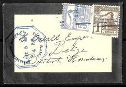 171 - HONDURAS - 1899 - COVER - FAUX, FORGERY, FALSE, FAKE, FALSCH, FALSO... - Timbres