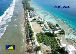 Tokelau Nukunonu Aerial View New Postcard - Nieuw-Zeeland