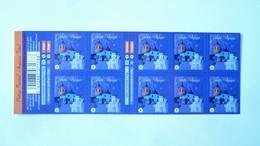 B133** - Neuf – 2012 –Carnet De Timbres-poste. Timbres  De Noël.  Carnet De 10 Timbres Autocollants   - COB N° 4291 - Carnets 1953-....