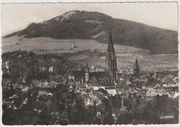 Dav :  Suisse :  FRIBOURG ( Fôret  Noire ) : La  Cathédrale Et Le  Schönberg , Cachet  47  Em  Bataillon ) - FR Freiburg