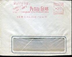 52434 France, Red Meter Freistempel EMA,1960 Paris Sidney Bechet Disques Vogue, Petit Fleur - Marcophilie (Lettres)