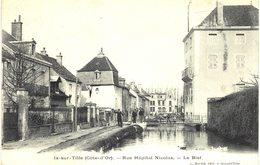 Carte  POSTALE  Ancienne  De   IS Sur TILLE - Rue Hôpital Nicolas, Le Bief - Is Sur Tille