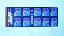 B134** - Neuf – 2012 –Carnet De Timbres-poste. Timbres  De Noël.  Carnet De 10 Timbres Autocollants   - COB N° 4292 – 1 - Carnets 1953-....