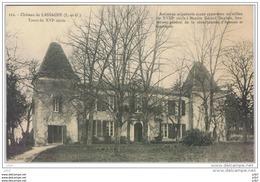Cpa..47..CHATEAU DE LASSAGNE..LOT ET GARONNE.. - Frankrijk