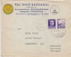 Lampade Tungsram -  Con Francobollo Propaganda Di Guerra - Esercito - 1944-45 République Sociale