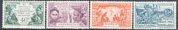 Madagascar 1931 Y.T.179/82 */MH VF/F - Unused Stamps