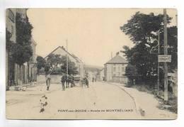 25 - PONT-de-ROIDE - Route De MONTBELIARD - Attelage - Other Municipalities