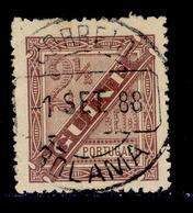 ! ! Portuguese Guinea - 1893 D. Carlos 2 1/2 R (Perf. 13 1/2) - Af. 34a - Used - Guinée Portugaise